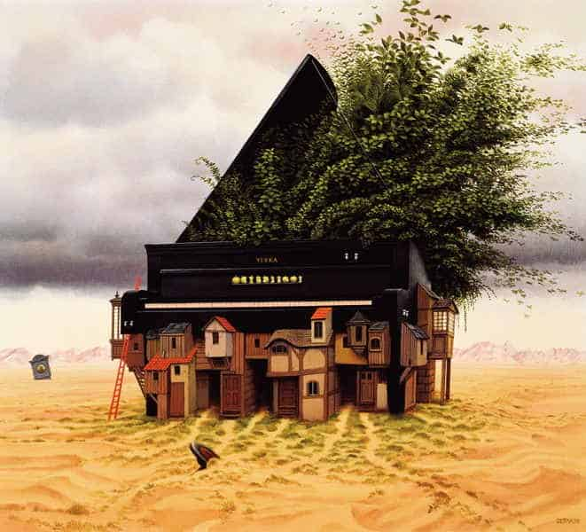 Famous Paintings - Piano-forte